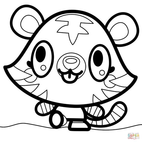 Moshi Monsters Jeepers coloring page Free Printable