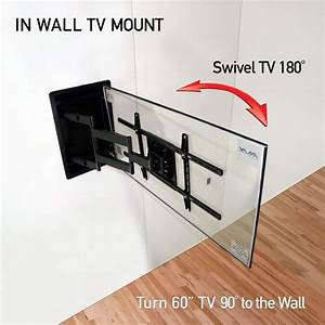 Recessed In Wall TV Wall Mount