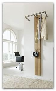 Design Garderobe Edelstahl : garderobe wandgarderobe riva 2 eiche edelstahl von spinder ~ Michelbontemps.com Haus und Dekorationen