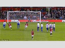 Cristiano Ronaldo's freekick against Porstmouth as you've