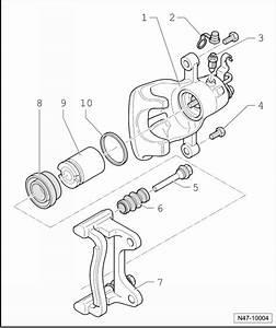 Volkswagen Workshop Manuals  U0026gt  Golf Mk5  U0026gt  Brake Systems  U0026gt  Brakes  Hydraulics  Regulator  Servo