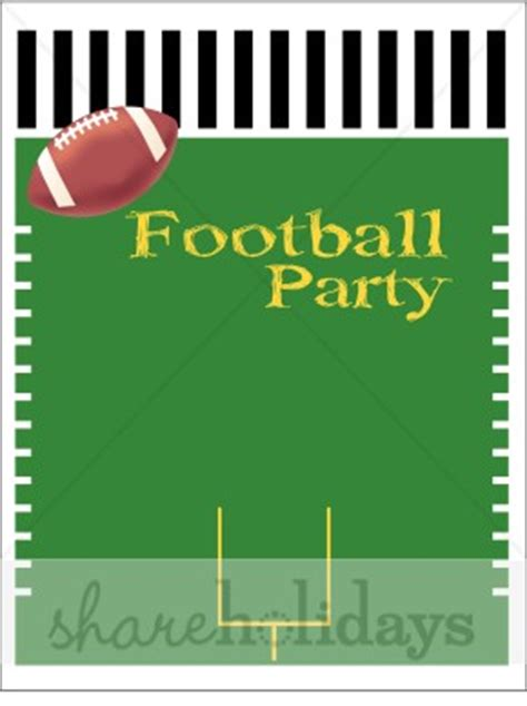 football party invitation background party clipart