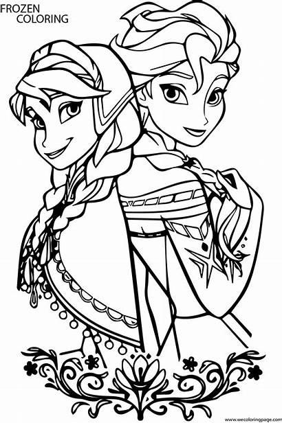 Frozen Coloring Elsa Pages Cartoon Trolls Drawing