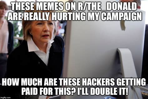 Crooked Hillary Memes - crooked hillary browsing r all and r the donald on reddit the donald