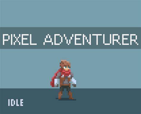 Animated Pixel Adventurer by rvros