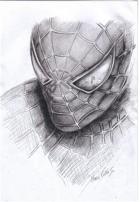 10 Dibujos a lapiz de Spiderman Dibujos a lapiz