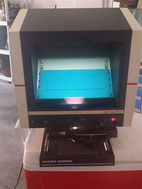 micro design microcopy  microfilm microfiche reader