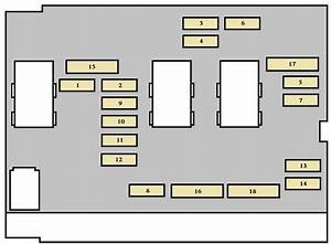 Peugeot 307 Cc  2004  - Fuse Box Diagram