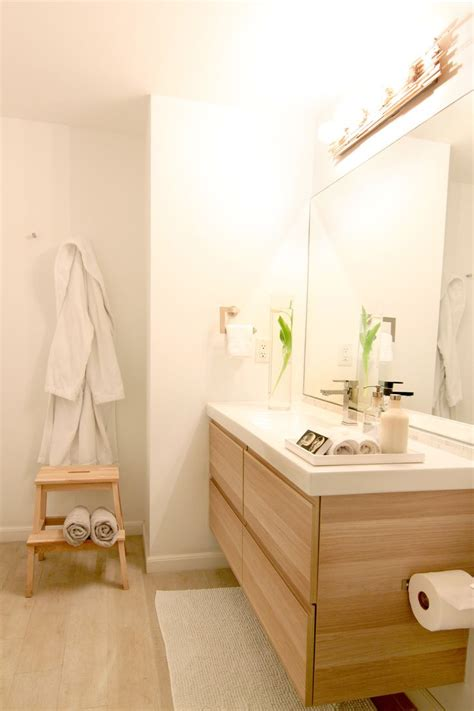 ikea bathroom ideas  pinterest ikea hack