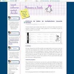 calcul mental maths pearltrees