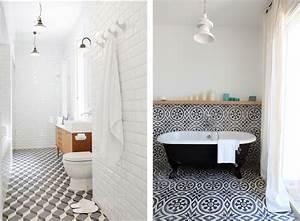 carrelage salle de bain avec motif modern aatl With carrelage salle de bain avec motif
