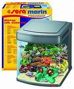 Sera Led Beleuchtung : sera 31099 marin biotop led cube 130 ein 130 l meerwasser komplettaquarium mit led beleuchtung ~ Eleganceandgraceweddings.com Haus und Dekorationen