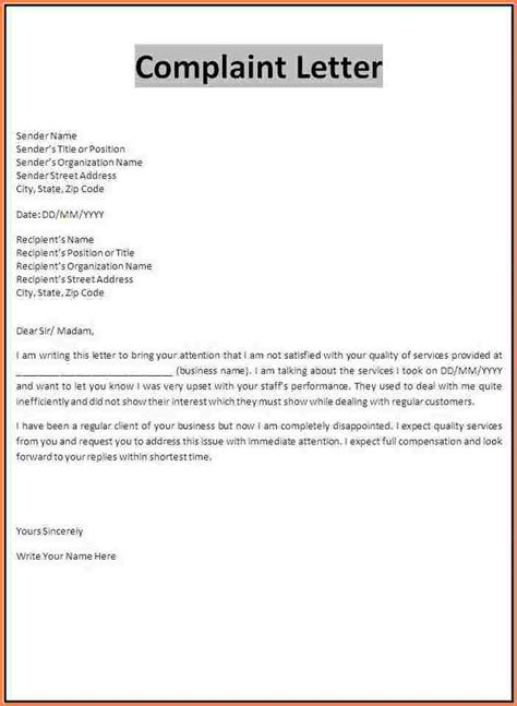 Sexual Harassment Letter Template by Sle Workplace Harassment Complaint Letter Hunecompany