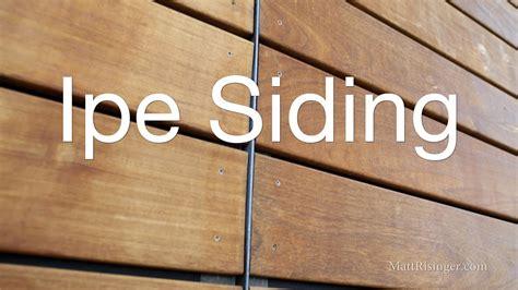 Wood Plank Exterior Siding