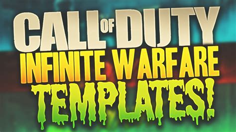 Banner Template Call Of Duty Infinite Warfare by Call Of Duty Infinite Warfare Banner Template Youtube