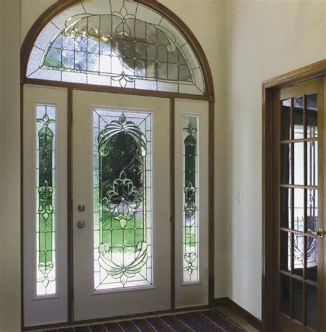decorative glass doors doorpro entryways inc decorative glass inserts