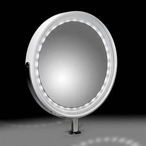 Coiffeuse Miroir Led : coiffeuse centrale design nabucco led ~ Teatrodelosmanantiales.com Idées de Décoration
