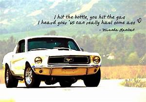 Mustang Quotes. QuotesGram