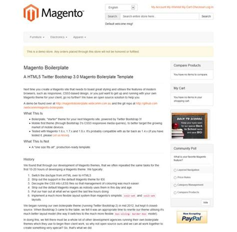Design Template Magento Bootstrap by 22 Best 22 Of The Best Free Premium Bootstrap Magento