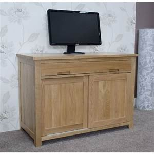 Opus Oak Discreet Hideaway Office Desk Looks Like A