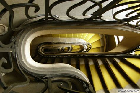 descente d escalier int 233 rieur immeuble lavirotte