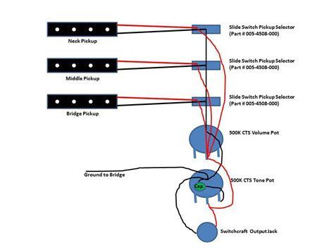 three 3 jazz bass wiring talkbass