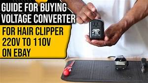 Guide To Buying Voltage Converter For Hair Clippers 220v