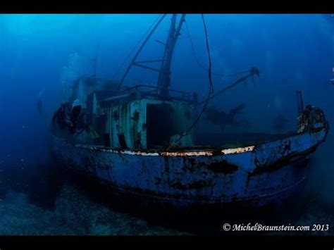Boat Sinking Gopro by Sinking And Dive On The Nemesis Iii In Cyprus