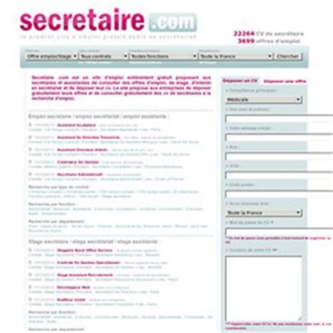 modele gratuit de cv de secretaire document