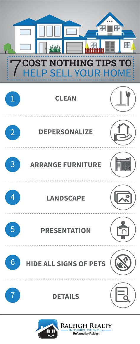 Design Tips For Selling Your Home by 7 Cost Nothing Tips To Sell Your Home Faster