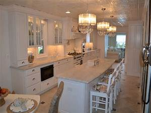 Kitchen Island Farmhouse White Raised Panel Kitchen