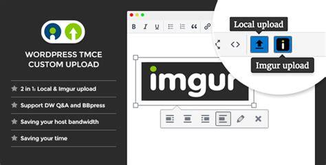 Wordpress Tinymce Custom Upload By Thedoge  Codecanyon