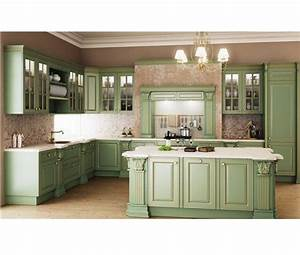Classic Kitchen Design Hpd456 - Kitchen Design - Al Habib