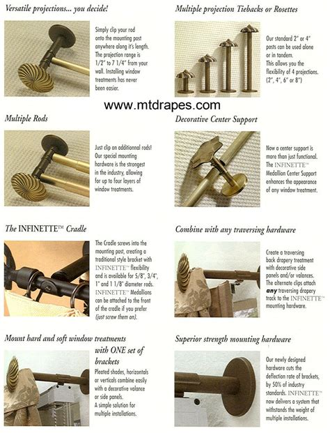 Decorative Traverse Rods For Patio Doors by Decorative Curtain Clips