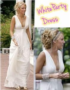 Gossip girl white party dress