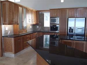Cherry Kitchen Cupboards Nico's Kitchens