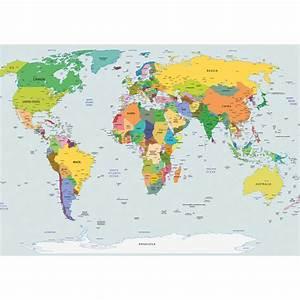 Tapete Weltkarte Kinderzimmer : fototapete no 2474 vlies welt tapete weltkarte weltatlas weltmeere geografie motiv 2474 ~ Sanjose-hotels-ca.com Haus und Dekorationen