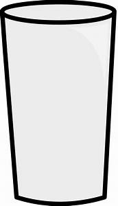 Glass clipart empty glass - Pencil and in color glass ...
