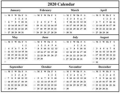 blank calendar template  editable format  word