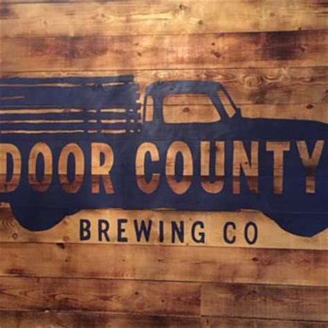 door county brewery door county brewing company breweries baileys harbor