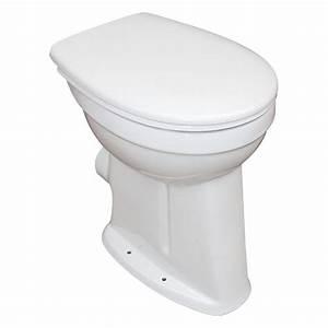Wc Sitz Erhöht : camargue stand wc plus 100 flachsp ler wc abgang waagerecht 10 cm erh ht mit wc sitz bauhaus ~ Watch28wear.com Haus und Dekorationen