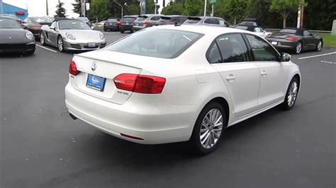 volkswagen jetta white 2013 volkswagen jetta candy white stock 109275 youtube