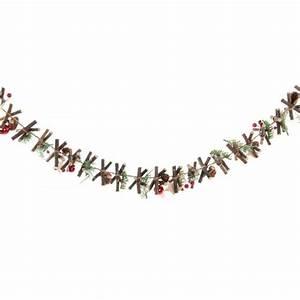 guirlande de noel en ficelleetoilepetits bout de bois With tapis champ de fleurs avec bout de canapé gigogne