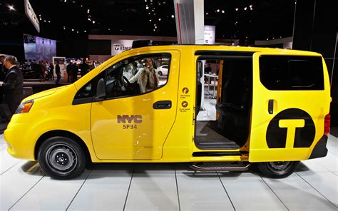 2018 Nissan Nv200 Taxi 2018 New York Auto Show Motor Trend