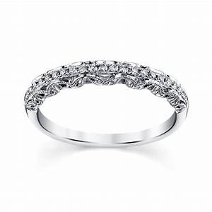 peter lam luxury royal lace 14k white gold diamond wedding With peter lam wedding rings