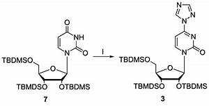 Introduction Of The Triazolyl Moiety Into The Uridine Derivative 7