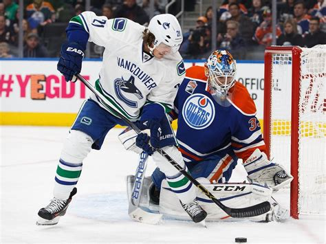 Edmonton Oilers At Vancouver Canucks Stingy Cam Talbot