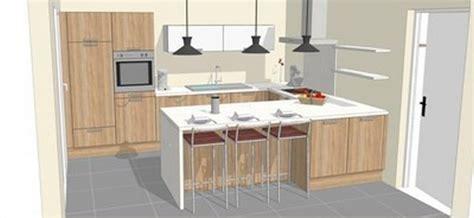 agencer une cuisine la cuisine en u pour un agencement spacieux et sans