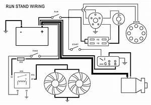 Engine Run Stand Wiring Diagram
