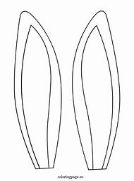 best bunny ears template ideas and images on bing find what you